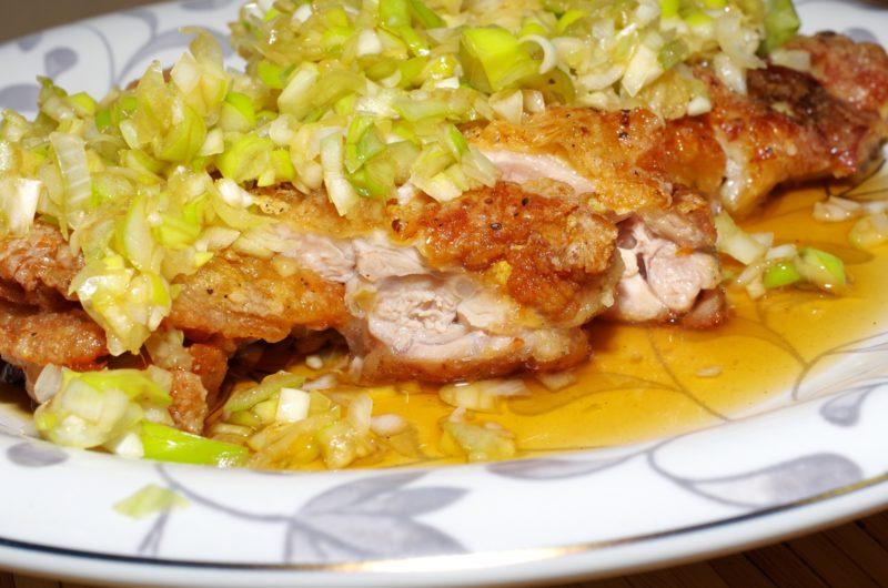 【ノンストップ】さっぱりダレのピリ辛油淋鶏のレシピ!ESSE【7月1日】