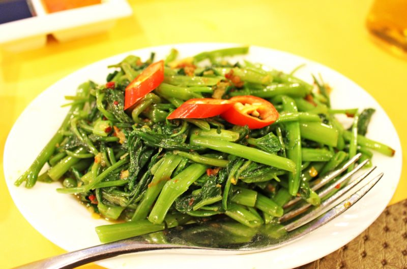 【ノンストップ】えび団子と空心菜の中華炒めのレシピ!ESSE【6月5日】