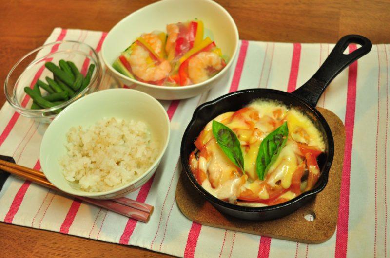 【ノンストップ】スキレットでこんがりチーズ 鮭のトマト煮のレシピ!ESSE【9月9日】