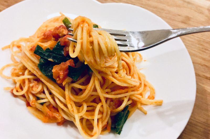 【土曜はナニする】カニ味噌風カニカマパスタのレシピ【9月26日】