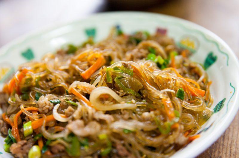 【ノンストップ】特製豚肉チャプチェのレシピ!ESSE【10月30日】